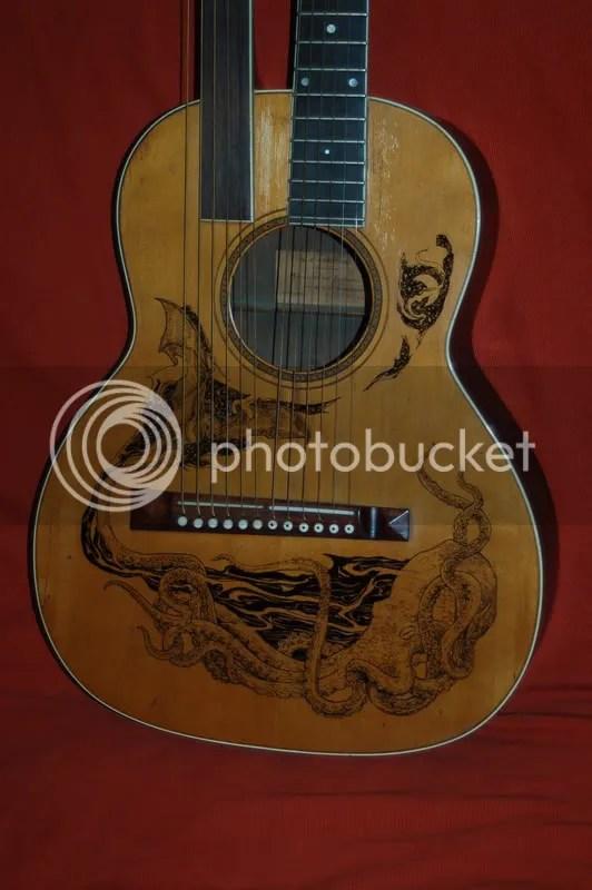 Tom's guitar