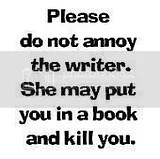 annoy the writer