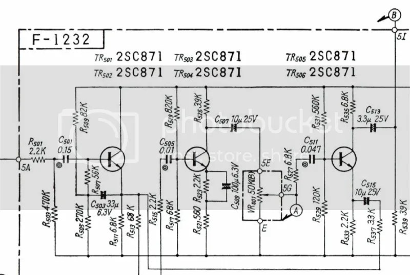Sansui RA 500 Spring Reverb Mod (schematic included) Help