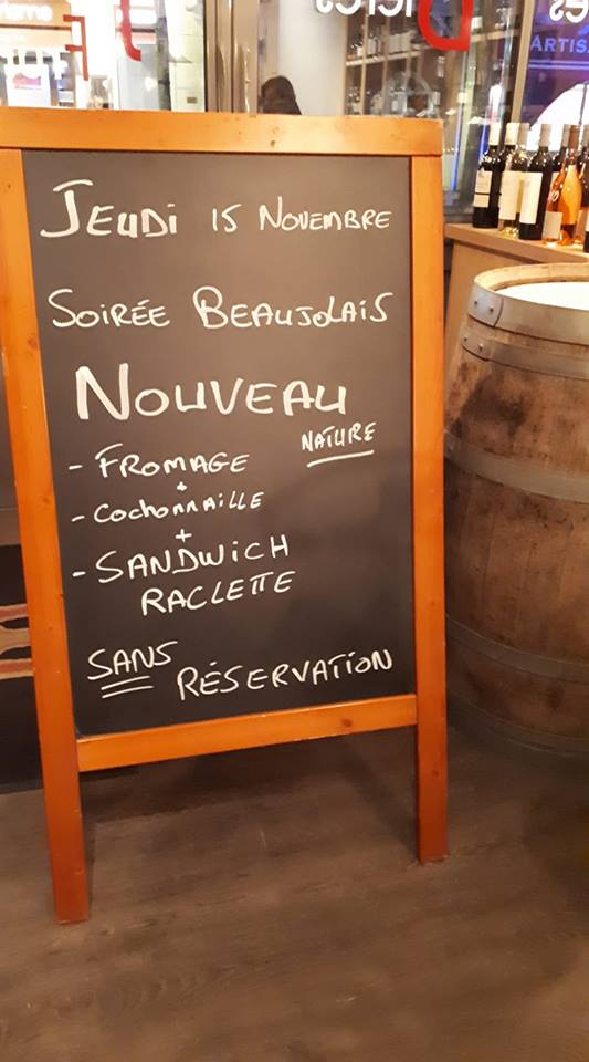 Tu Veux Tu Viens : viens, Beaujolais, Nouveau, OnVaSortir!, Paris