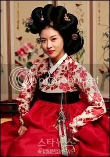 jin yi from k-drama hwang jin yi