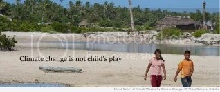 climate change is not child's play