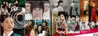 Korean TV dramas collage