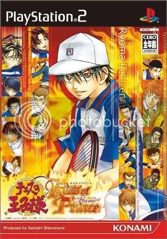 〖☢FTP永久〗 【一般向】 [PS2]テニスの王子様 Kiss of Prince Flame Version + Kiss of Prince Ice Version + テニスの王子様 ...