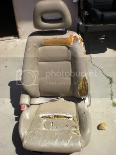 Write up How to repair and restore seat foam and