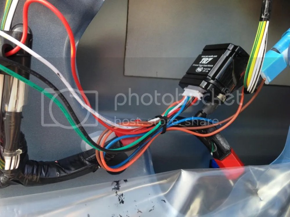 medium resolution of using the zip ties secure the pac module takes two and the wires