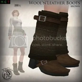 Wool'n'Leather Boots