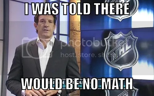 Shanny: I WAS TOLD THERE WOULD BE NO MATH