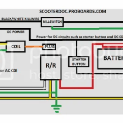 Gy6 Wiring Harness Diagram Double Sink Plumbing Venting Crossfire 150 No Spark | Scooter Doc Forum