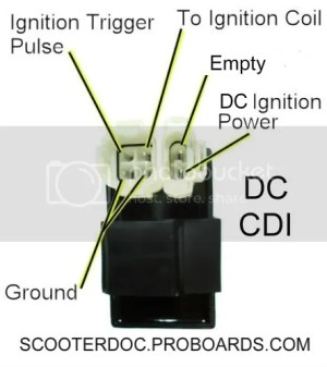 50ccc CDI AC OR DC GY6 MOTOR REFRESH | Scooter Doc Forum