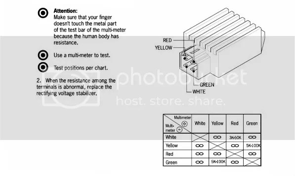 rectifier regulator wiring diagram hobbiesxstyle