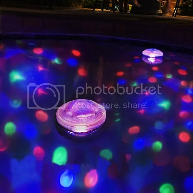 Underwater Light Show Colour Changing Floating Disco Ball