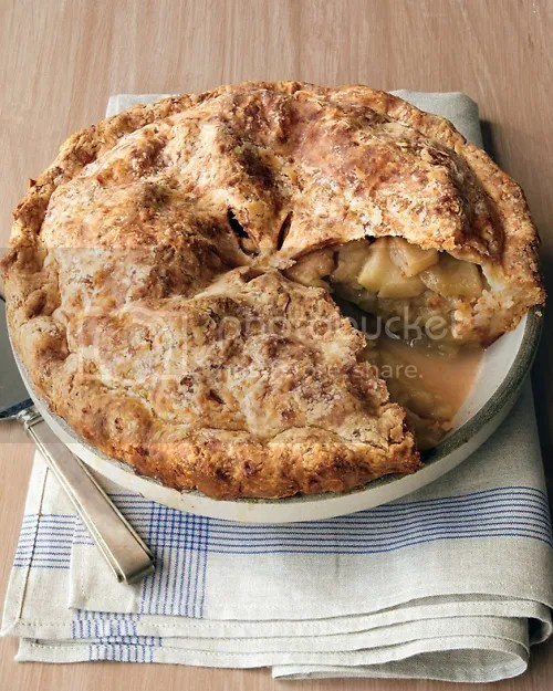Cheddar-Crusted Apple Pie (because nothing goes better with Apples ...