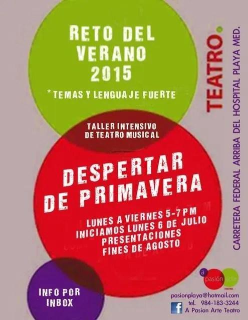 Theater Camp 2015 Playa del Carmen