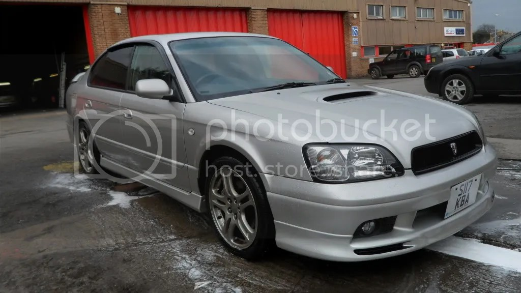 1999 Subaru Legacy B4 Owners Manual