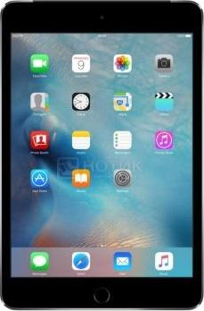 Планшет Apple iPad Mini 4 16Gb Wi-Fi + Cellular Space Gray (iOS/A8 1500MHz/7.9' (2048x1536)/2048Mb/16Gb/4G LTE 3G (EDGE, HSDPA, HSPA+)) [MK6Y2RU/A]