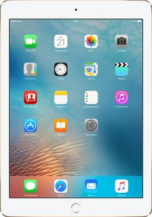 Планшет Apple iPad Pro 9.7&quot Wi-Fi + Cellular 32GB Gold MLPY2RU, A