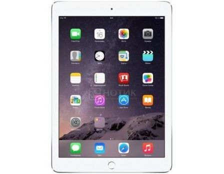 Планшет Apple iPad Air 2 32Gb Wi-Fi + Cellular (iOS 10/A8X 1500MHz/9.7' (2048x1536)/2048Mb/32Gb/Cellular (3G+4G LTE) 3G (EDGE, HSDPA, HSPA+)) [MNVQ2RU/A]