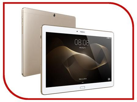 Планшет Huawei MediaPad M2 10.0 LTE 64Gb M2-A01L Gold (HiSilicon Kirin 930 2.0 GHz/3072Mb/64Gb/Wi-Fi/3G/4G LTE/Bluetooth/GPS/Cam/10.1/1920x1200/Android)
