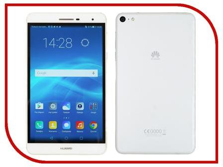 Планшет Huawei MediaPad T2 PRO 7.0 LTE 16Gb PLE-701L White (Qualcomm Snapdragon 615 MSM8939 1.5 Ghz/2048MB/16Gb/Wi-Fi/LTE/Bluetooth/Cam/7.0/1920x1200/Android)