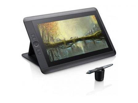 Графический планшет Wacom DTH-1300 черный USB