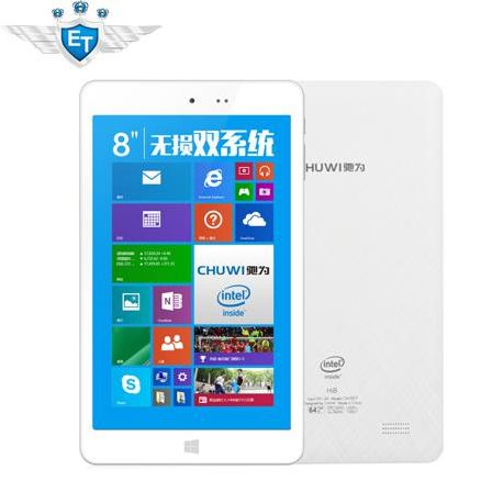 Планшетный ПК Chuwi Hi8 Windows 8.1 4.4 Intel Z3736F 2 32 8 1920 x 1200 Bluetooth 4.0 WiDi