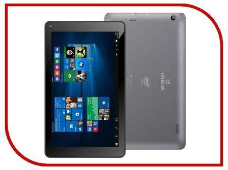 Планшет Irbis TW35 Black (Intel Atom Z3735G 1.83 GHz/1024Mb/16Gb/Wi-Fi/Bluetooth/Cam/8.9/1026x600/Windows 10)