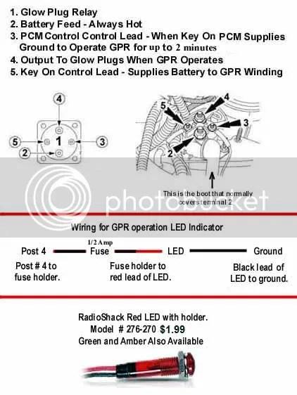 7.3 Powerstroke Glow Plug Relay Wiring Diagram : powerstroke, relay, wiring, diagram, Powerstroke, Diesel, Forum