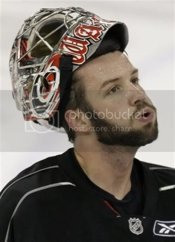 I love me some Cam Ward...even with the facial hair!