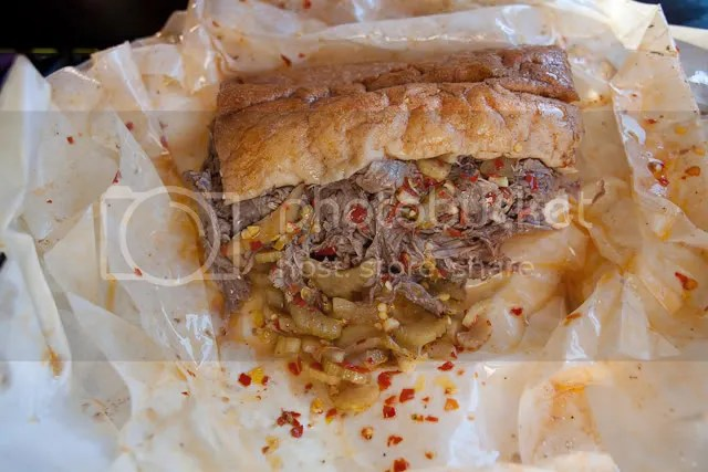 "Chicago's ""Portillos""-- the best Italian Beef in Chicago"