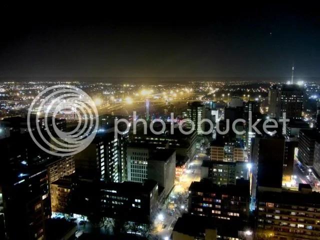 Parktonian Braamfontein Night Lights