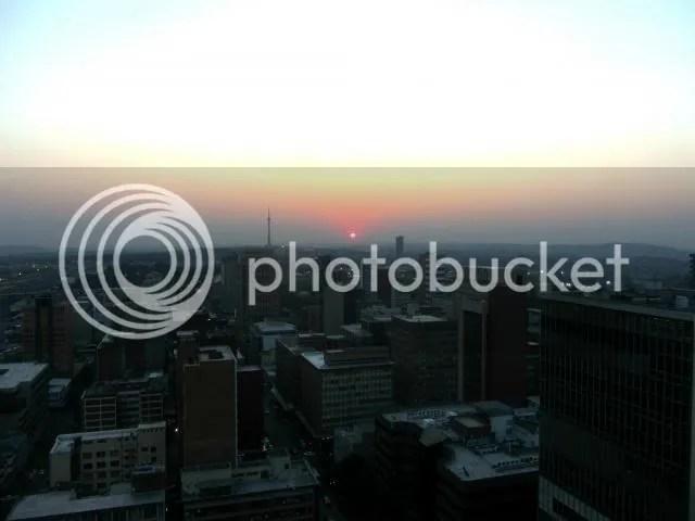 Parktonian Sunset Wide Dusk