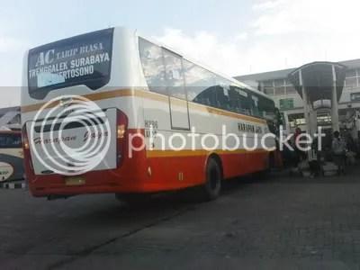 Harapan Jaya AC Tarif Biasa Surabaya-Trenggalek