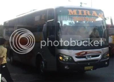 Mira AC Tarif Biasa Surabaya-Yogya