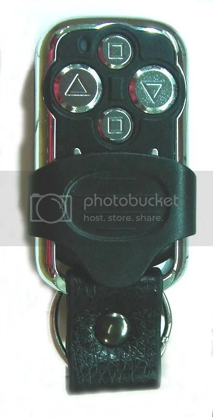 4 BUTTON REMOTE FOR MY ROLLER SHUTTER CONTROL PANEL KIT  eBay