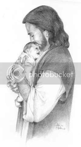 jesus baby photo: JESUS AND BABY jesusanbaby.jpg