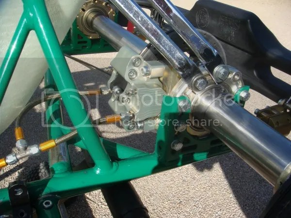 Rear Brake Side View