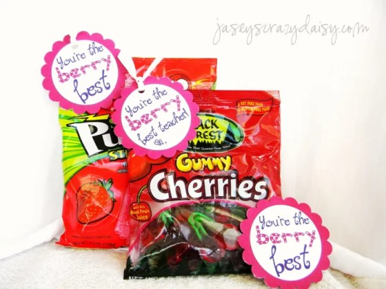 Berry BestTeacher Appreciation Ideas