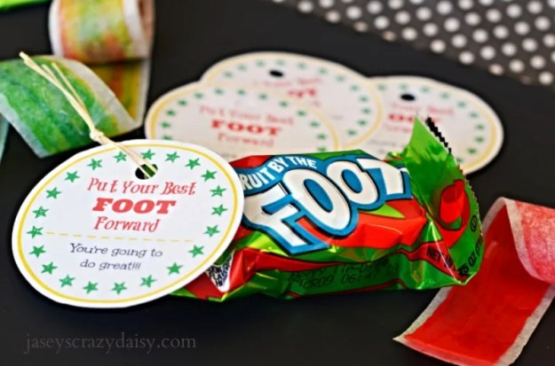 Put Your Best Foot Forward Printable Tag
