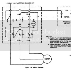 Magnetic Starter Wiring Diagram Class For Voting System Air Compressor Pressure Switch All Data Simple Schematic Box