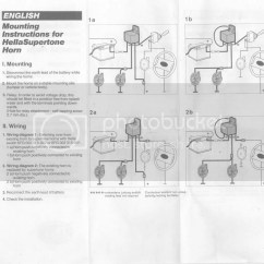 Hella Supertone Wiring Diagram Plug Supertones Install Page 2 Infamous Nissan
