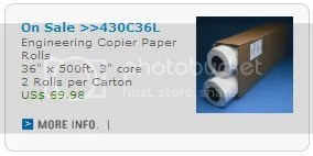 Inkjet Plotter Paper Wide Format Plotter Paper Supplies