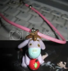 #WP023 – Eeyore Pendant + Necklace - $10 (incl. postage)