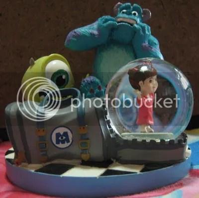 #OD010 – Monsters Inc Snow Globe - $30