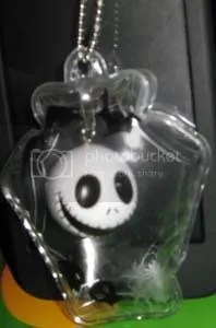 #OD014 -Nightmare Before Christmas Balloon Keychain - $3.50