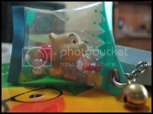 #WP010 – Pooh with Beads Keychain - S$8.00