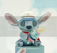 #LS053 – Stitch in Sailor Costume holding Scrump - $7