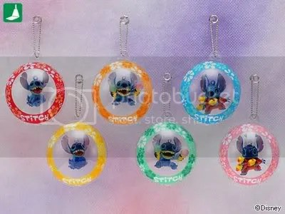 #LS068 – Stitch in Balloon Keychain - $3