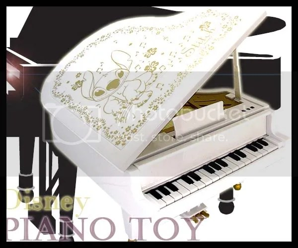 #LS003 - Stitch Piano Toy - S$99.00 (incl. reg. mail)