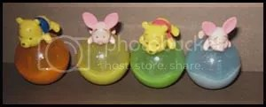 #WP005 – Winnie & Piglet on Glitter Ball Tumbler- S$3(each) , S$5(any 2)